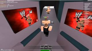 Roblox WWE- The shield