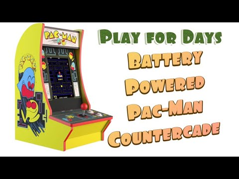 Arcade1up Pac-Man Countercade Mod from Detroit Love