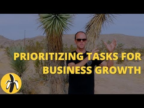 Prioritizing Tasks for Business Growth