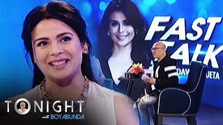 TWBA: Fast Talk with Dawn Zulueta