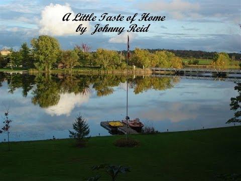 Johnny Reid - A Little Taste of Home ( Lyrics)