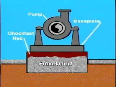 Chockfast Epoxy GS of pump - H.Rodas