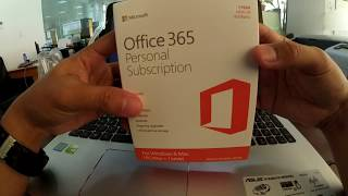 Lazadaserye: Microsoft Office 365 Personal Subscription Unboxing