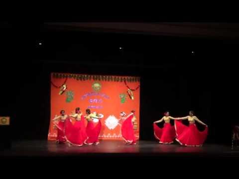 TSN Omaha Ugadi 2016 -  Ankitha and Friends Performance