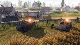 NEW - DLC First Look | Ostfront Veteranen New German Faction | Men of War: Assault Squad 2 Gameplay