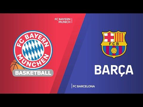 FC Bayern Munich - FC Barcelona Highlights | Turkish Airlines EuroLeague, RS Round 17