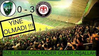 KOCAELİSPOR 0 - 3 Yeni Çorumspor Maçı'nın Hikayesi.