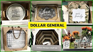 DOLLAR GENERAL HOME DECOR SHOP WITH ME 2020
