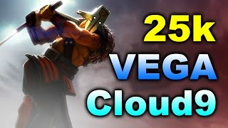 Cloud 9 VEGA - HUGE 25000+ Comeback! - SL i-league EU Dota 2