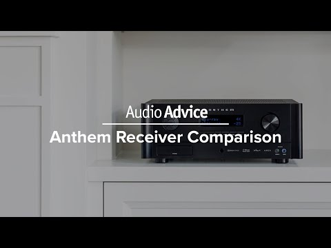 Anthem Receiver Comparison (MRX 520, MRX 720, MRX 1120)