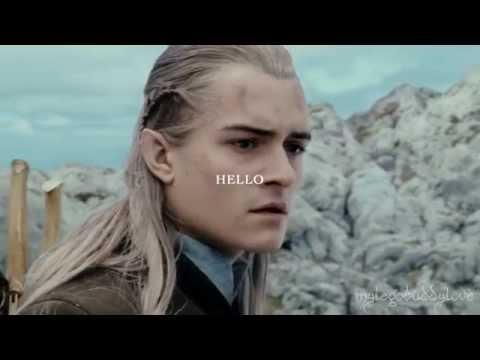 HELLO - Legolas + Aragorn