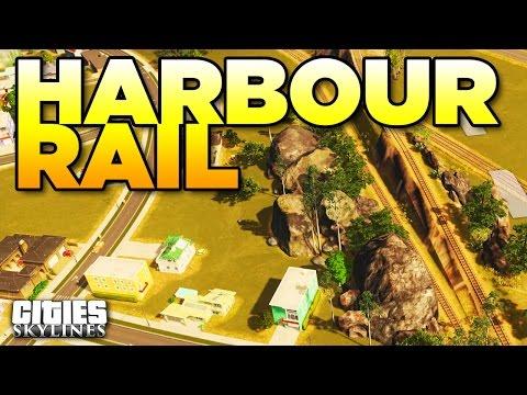 HARBOUR RAIL   Cities Skylines - Aurora [28]