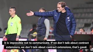 PSG boss Tuchel unfazed by rumours surrounding his future at the club