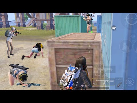 PUBG Mobile - KILLED 4 ENEMIES WITH ONLY 1 HP - Gameplay #100