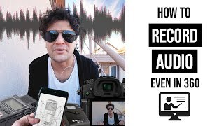 How to record sound even in 360 videos | Let's compare the best alternatives | Gaba_VR