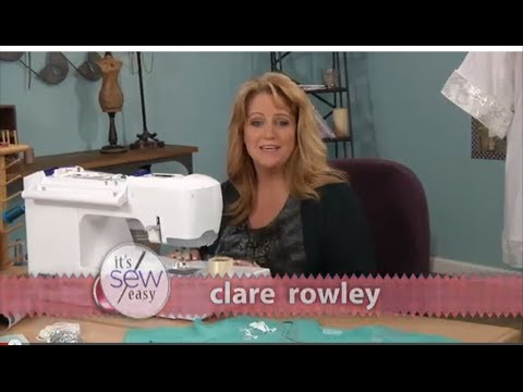 How to embellish a Tshirt  ITS SEW EASY TV  612 3