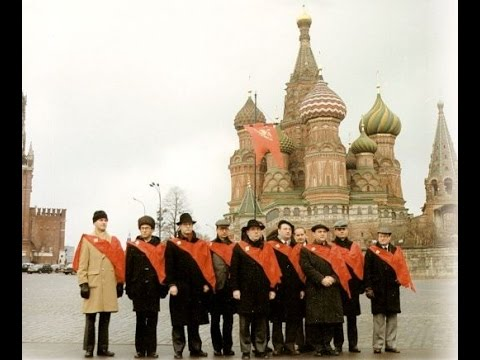 Moscow 1990 - A TFP delegation near the Kremlin