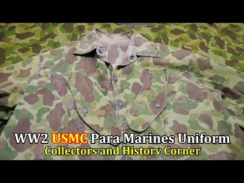 World War 2: USMC Para Marines Uniform | Collector's & History Corner