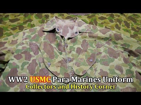 World War 2: USMC Para Marines Uniform   Collector's & History Corner