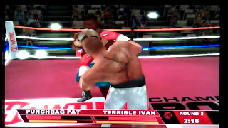 Showtime Championship Boxing Nintendo Wii Gameplay