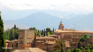 Amazing Views of Alhambra - Granada, Spain