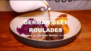 German Beef Roulades I Rinderrouladen - COOK THE CLASSICS WITH ME.AT 2