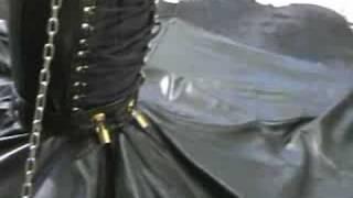 Fetish leder  leather  Geheimkleid Bondage Fetisch,Fessel