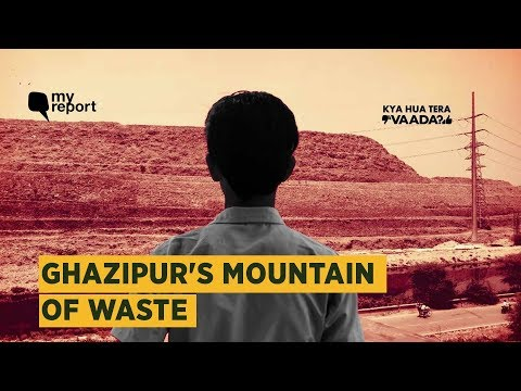 Breathless & Secluded: Life at Delhi's Ghazipur Landfill Sit
