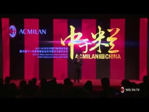 Press Conference AC Milan China Tour 2017