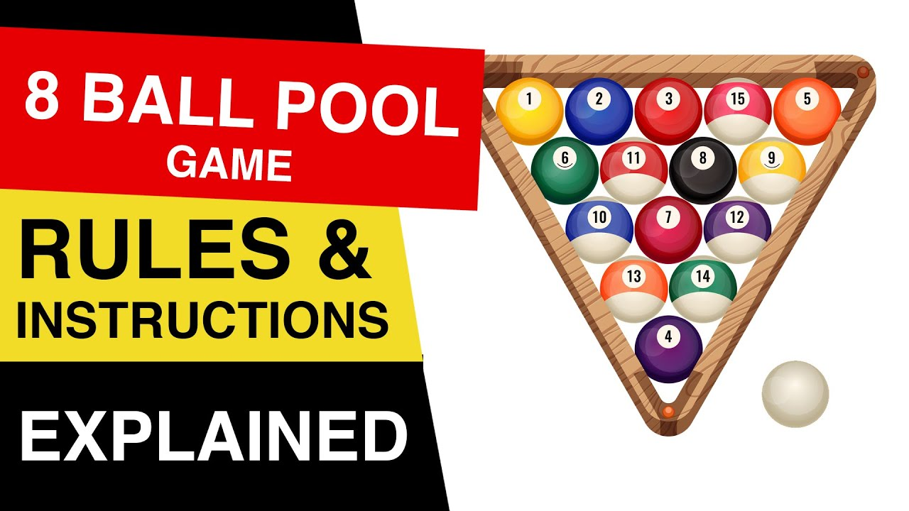 8 Ball Pool Rules How To Play 8 Ball Pool 8 Ball Pool Explained Youtube