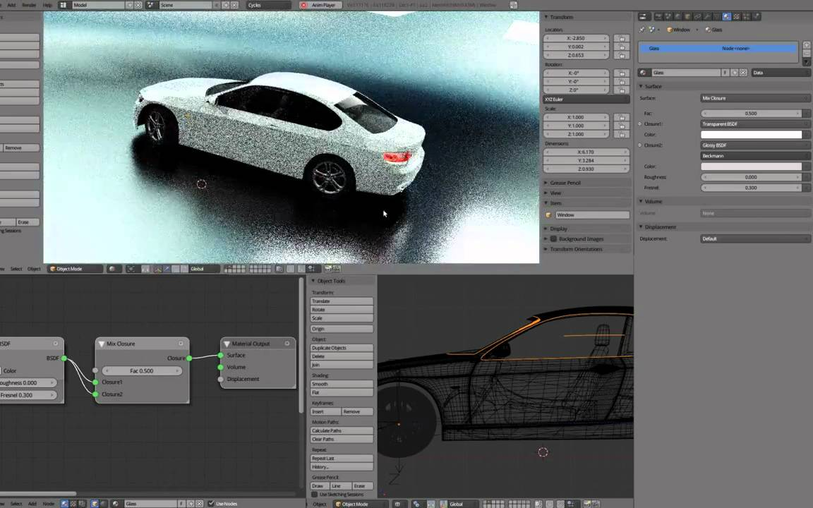 Blender 2 61 released with GPU based rendering and motion
