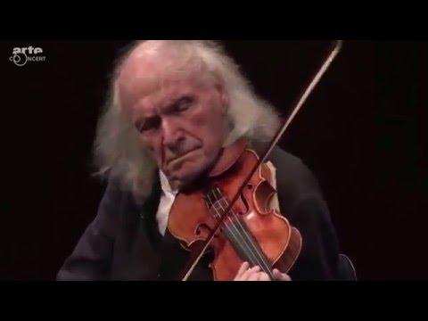Ivry Gitlis - Concert Carte blanche pour Ivry Gitlis - Festival de Pâques d'Aix-en-Provence 2016