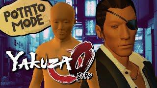 Yakuza 0's Lowest Graphic Settings Get Weird | Potato Mode