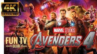 Мстители 4: Финал — Русский Трейлер (2019) Фантастика 4К