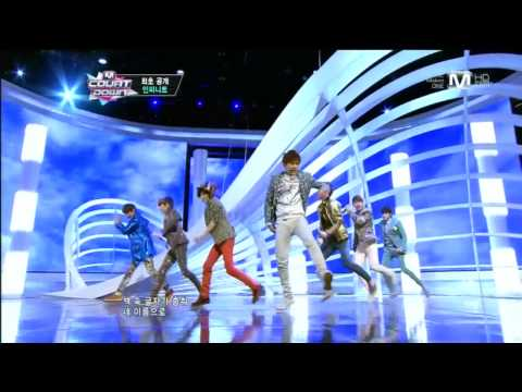 인피니트_Man In Love(Man In Love by INFINITE @Mcountdown 2013.3.21)