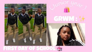 GRWM : FIRST DAY OF SCHOOL ! 💋 ( JUNIOR ) | 2018