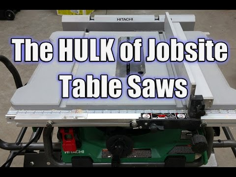 Hitachi c10rj 10 jobsite table saw with 35 rip capacity and fold hitachi c10rj 10 jobsite table saw with 35 rip capacity and fold and roll stand greentooth Image collections