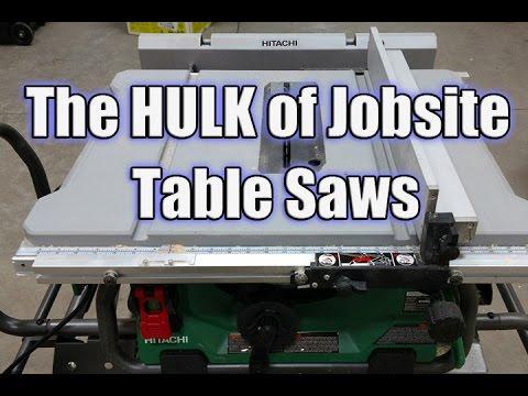 Hitachi C10ra3 Table Saw For Sale