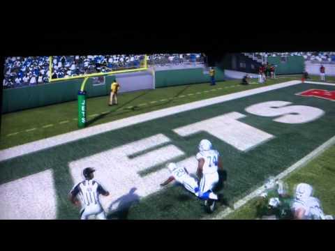 Joseph Addai Amazing Touchdown Madden 11 PS3 HD