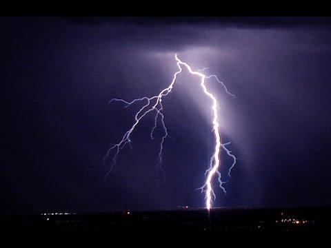 extreme lightning storm over tucson arizona youtube