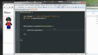 Gambar cover JQuery Game Tutorial | Moving a Character | 17