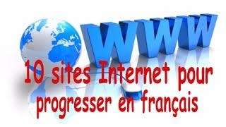 10 sites internet pour progresser en français