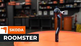 Byta styrspindel, dragstångsände SKODA ROOMSTER 1 Guide | Autodoc