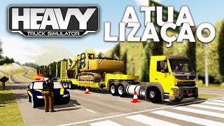 Atualização do Heavy Truck Simulator com Novo Caminhão Volvo FMX e nova Cidade!