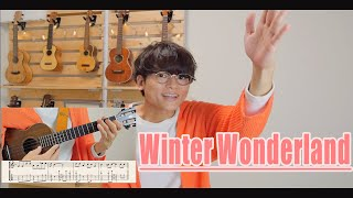 【TAB】Winter Wonderland / solo ukulele cover