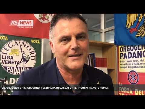 23/08/2019 | CRISI GOVERNO, FONDI VAIA IN CASSAFOR...