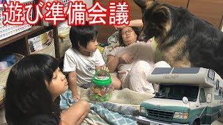 grandchild and #GermanShepherd# dog#AkitaInu #秋田犬#JAPANESEAKITA#...