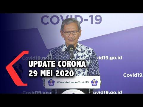Update Corona 29 Mei 2020: 25.216 Positif, 6.492 Sembuh, 1.520 Meninggal