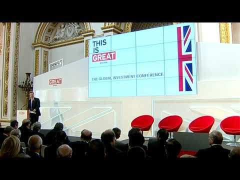 Global Investment Conference - Prime Minister's address - 26th July 2012
