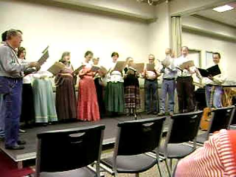 Memphis Dulcimer Gathering & Folk Festival 2009 -- Cement Pond Sacred Harp Singers
